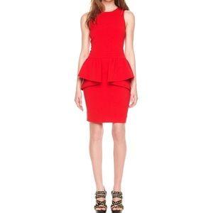 Michael Kors Jersey Peplum Dress